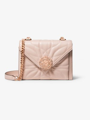 MICHAEL Michael Kors Whitney Small Petal Quilted Leather Convertible Shoulder Bag