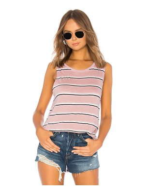 Michael Stars Lexi Stripe Shift Tank
