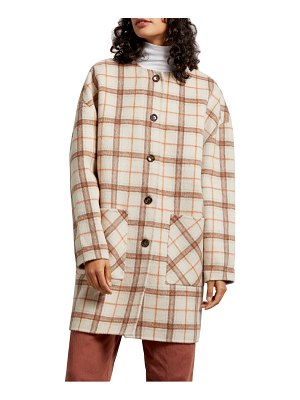 Michael Stars pamela portola double face wool blend coat