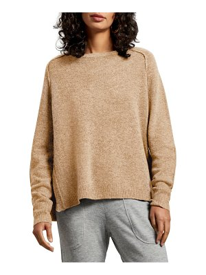 Michael Stars solana exposed seam crewneck sweater