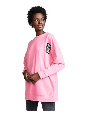 Michaela Buerger oversize perfume bottle sweatshirt