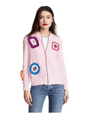 MICHAELA BUERGER Strawberry Patch Zip Jacket