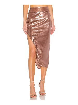 Michelle Mason side slit skirt