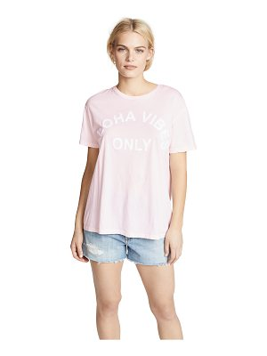 MIKOH aloha vibes only tee