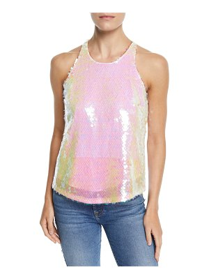 Milly Marie Paillettes Tank Top