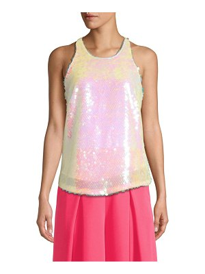 Milly marie sequin tank top