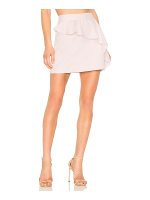 Milly Ruffle Mini Skirt