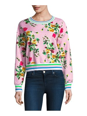 Milly tyler floral sweatshirt