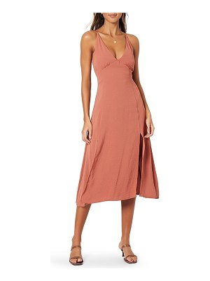 Minkpink akora sleeveless midi dress