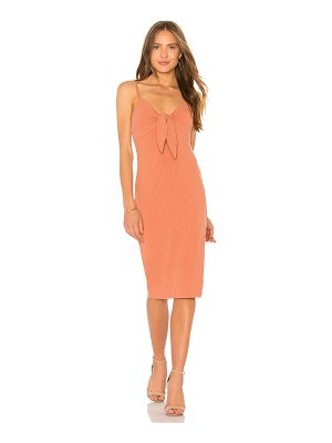 Minkpink Andalusia Tie Front Dress