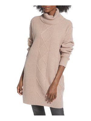 Minkpink lesley cable tunic sweater