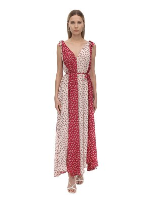 MIRAE Bonnie silk crepe maxi dress