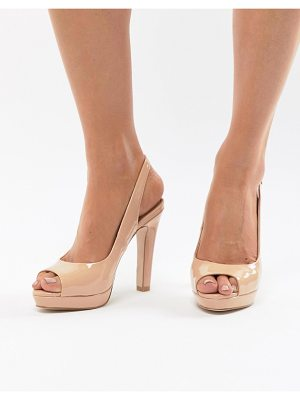 Miss Kg cleo peep toe high heels