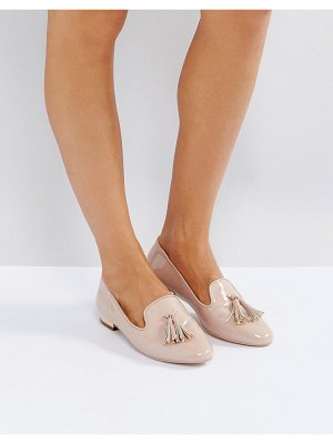 Miss Kg flat metal trim heel slipper