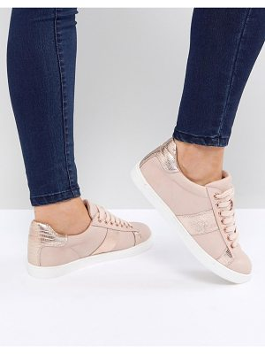 MISS KG Metallic Side Stripe Sneaker