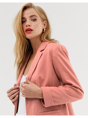 Miss Selfridge blazer in blush
