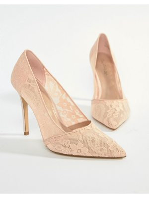 Miss Selfridge lace pointed court