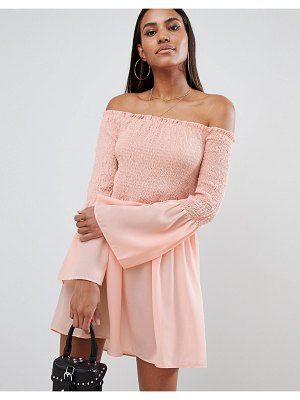MISSGUIDED bardot swing dress
