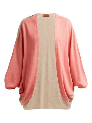 Missoni batwing sleeve cashmere blend cardigan
