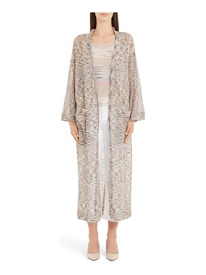 Missoni long space dyed cardigan