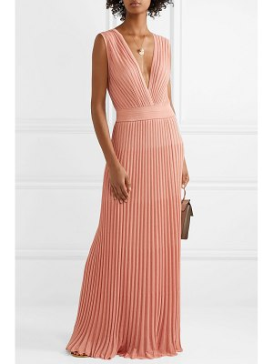 Missoni mare pleated lurex maxi dress