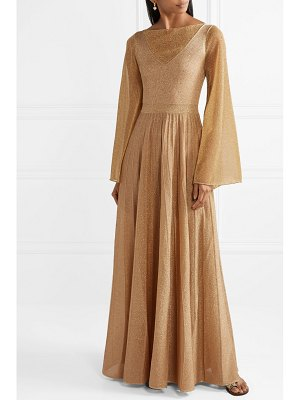 Missoni pleated lurex gown