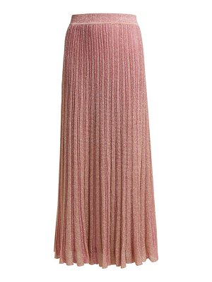 Missoni ribbed knit lamé skirt