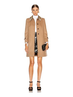 Miu Miu button coat
