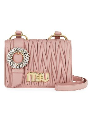MIU MIU My Miu Matelasse Shoulder Bag