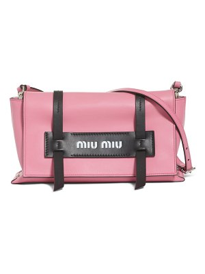 Miu Miu small grace calfskin shoulder bag