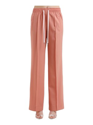 Miu Miu Stretch wool wide pants