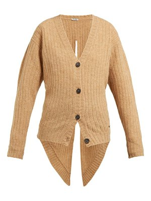 Miu Miu tie back wool cardigan