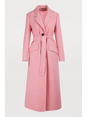 Miu Miu Wool maxi coat