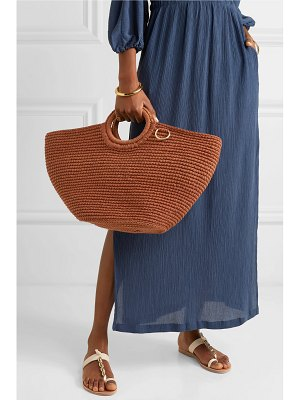 Mizele sun crocheted cotton tote