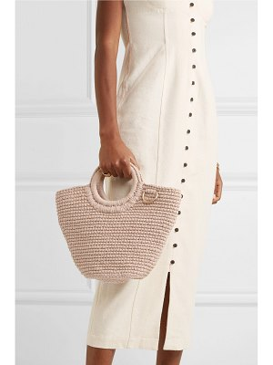 Mizele sun mini crocheted cotton tote
