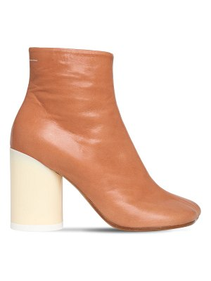 MM6 MAISON MARGIELA 90mm leather ankle boots