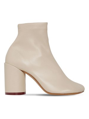 MM6 MAISON MARGIELA 90mm stretch faux leather boots