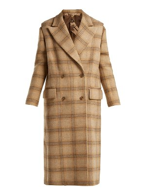 MM6 MAISON MARGIELA Mm6 Maison Margiela - Detachable Sleeve Checked Wool Coat