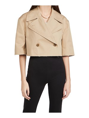 MM6 MAISON MARGIELA kaban cropped trench