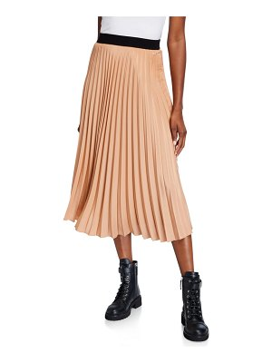 Moncler Accordion Pleated Skirt