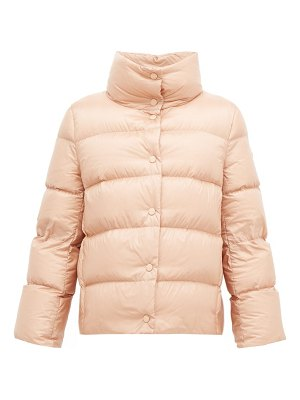 Moncler aude lightweight quilted down jacket