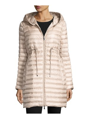 Moncler Barbel Hooded Puffer Coat