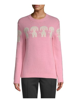 Moncler cashmere knit dog sweater