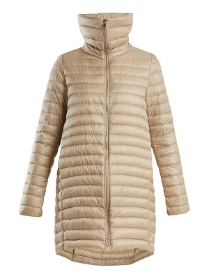 Moncler Citrinelle Funnel Neck Quilted Coat