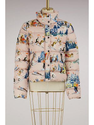 Moncler Clairette printed down jacket