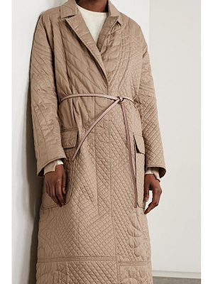 Moncler Genius 1 jw anderson penbyrn belted quilted padded cotton-shell coat