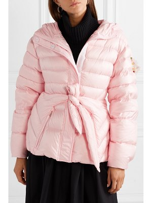 Moncler Genius 4 simone rocha embellished belted shell down jacket