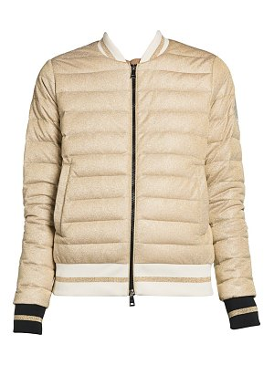 Moncler or giubbotto bomber jacket