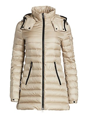 Moncler menthe giubbotto hooded drawstring puffer coat