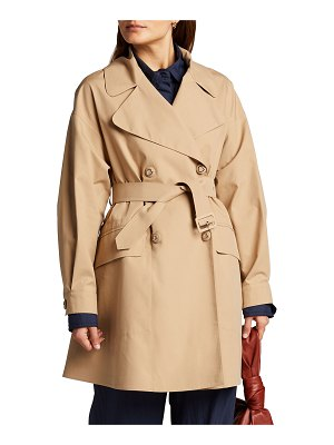 Moncler Lie Caban Double-Breasted Coat